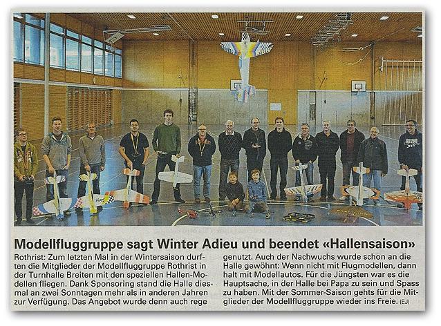 Quelle: Zofinger Tagblatt 6. März 2014