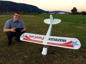 Piper FunCup von Multiplex. Erstflug erfolgreich bestanden