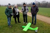 Das wohl erste Modellflugzeug auf unserem Plätzli aus dem 3D-Drucker erregte viel Aufmerksamkeit- Bravo! 👏🏻